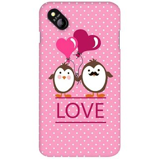G.store Printed Back Covers for Micromax Bolt D303 Pink 36814