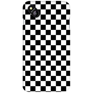 G.store Printed Back Covers for Micromax Bolt D303 Black 36839