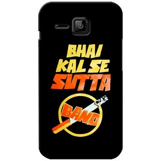 G.store Printed Back Covers for Micromax Bolt S301 Black 37008