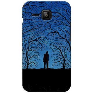 G.store Printed Back Covers for Micromax Bolt S301 Blue 37019