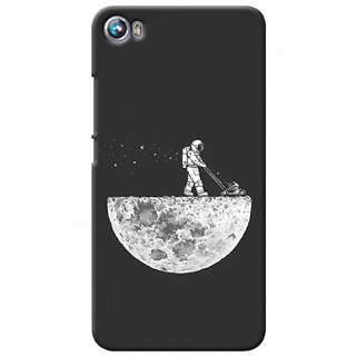 G.store Printed Back Covers for Micromax Canvas Fire 4 A107 Grey 37276