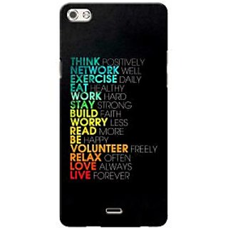 G.store Printed Back Covers for Micromax Canvas 5 Q450 Multi 36642