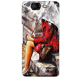G.store Printed Back Covers for Micromax Canvas Knight A350 Multi 37761