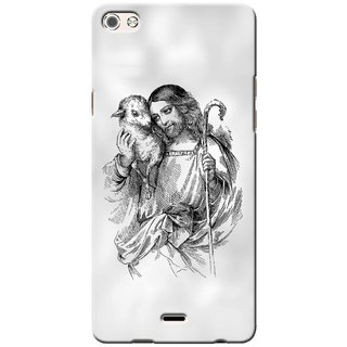 G.store Printed Back Covers for Micromax Canvas 5 Q450 White 36700