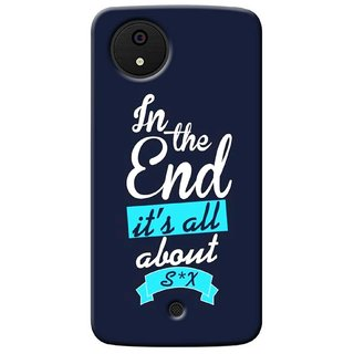G.store Printed Back Covers for Micromax Canvas A1 Blue 36704