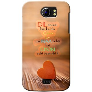 G.store Printed Back Covers for Micromax Canvas 2 A110 Multi 37151