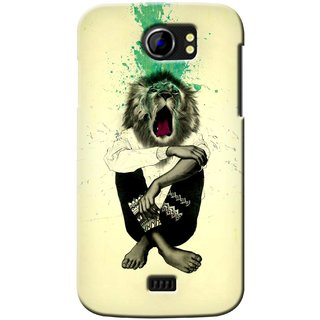 G.store Printed Back Covers for Micromax Canvas 2 A110 Multi 37156