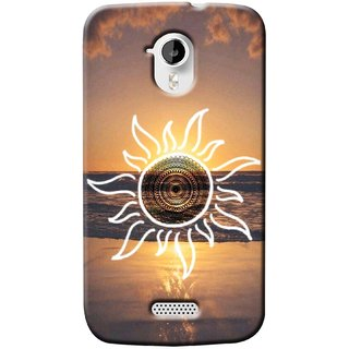 G.store Printed Back Covers for Micromax Canvas HD A116 Multi 37366