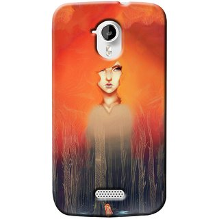 G.store Printed Back Covers for Micromax Canvas HD A116 Multi 37370