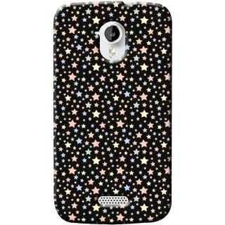 G.store Printed Back Covers for Micromax Canvas HD A116 Black 37371