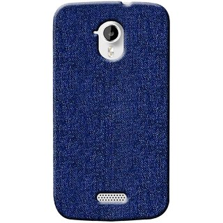 G.store Printed Back Covers for Micromax Canvas HD A116 blue 37378