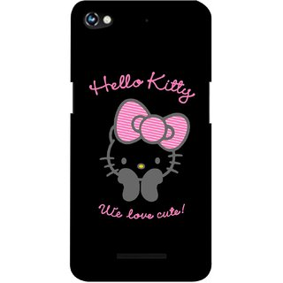 G.store Printed Back Covers for Micromax Canvas Hue 2 A316  Black 37587