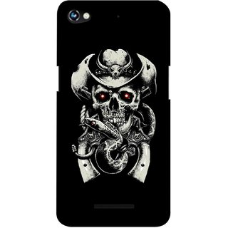 G.store Printed Back Covers for Micromax Canvas Hue 2 A316  Black 37596