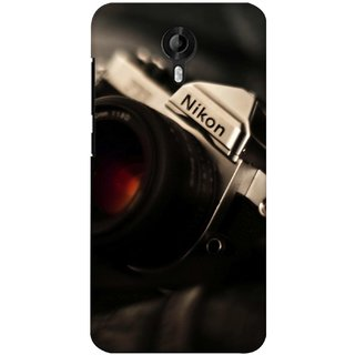 G.store Printed Back Covers for Micromax Canvas Nitro 3 E455 Black 37809