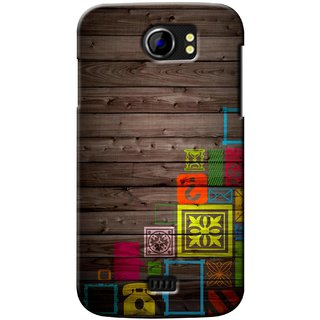 G.store Printed Back Covers for Micromax Canvas 2 A110 Multi 37198