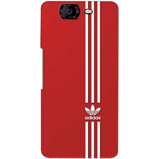 G.store Printed Back Covers for Micromax Canvas Knight A350 Red 37732