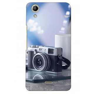 G.store Printed Back Covers for Micromax Canvas Selfie Lens Q345  Multi 38133