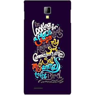 G.store Printed Back Covers for Micromax Canvas Xpress A99 Multi 38368