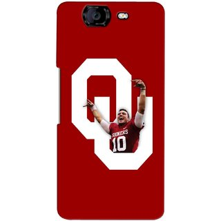G.store Printed Back Covers for Micromax Canvas Knight A350 Red 37740