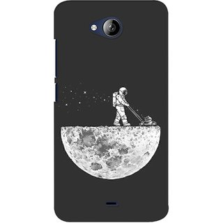 G.store Printed Back Covers for Micromax Canvas Play Q355 Grey 37976