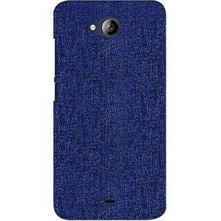 G.store Printed Back Covers for Micromax Canvas Play Q355 blue 37978