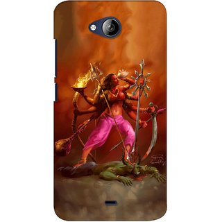 G.store Printed Back Covers for Micromax Canvas Play Q355 Multi 37982
