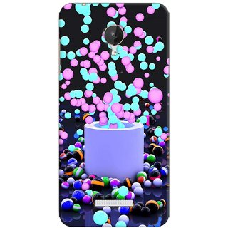 G.store Printed Back Covers for Micromax Canvas Spark Q380 Multi 38422