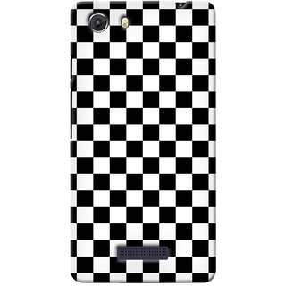 G.store Printed Back Covers for Micromax Unite 3 Q372 Black 38639