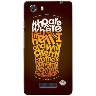G.store Printed Back Covers for Micromax Unite 3 Q372 Multi 38669