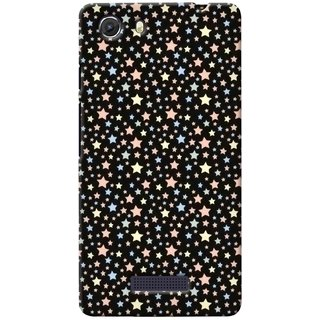 G.store Printed Back Covers for Micromax Unite 3 Q372 Black 38671