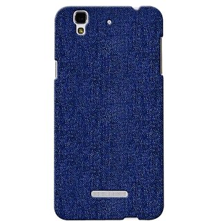 G.store Printed Back Covers for Micromax YU Yureka blue 38878