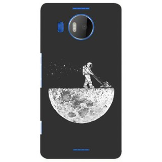 G.store Printed Back Covers for Microsoft Lumia 950 XL Grey 39076