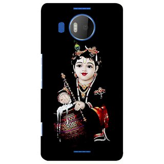 G.store Printed Back Covers for Microsoft Lumia 950 XL Black 39081