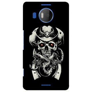 G.store Printed Back Covers for Microsoft Lumia 950 XL Black 39096