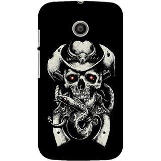 G.store Printed Back Covers for Motorola Moto E Black 39296