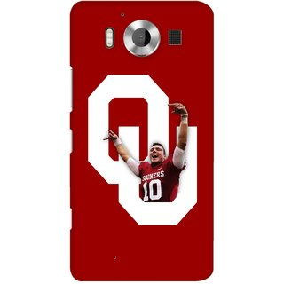 G.store Printed Back Covers for Microsoft Lumia 950 Red 38940