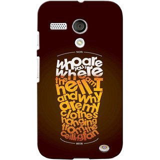 G.store Printed Back Covers for Motorola Moto G Multi 39469