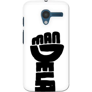 G.store Printed Back Covers for Motorola Moto X White 39763