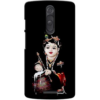 G.store Printed Back Covers for Motorola Moto X (Gen 3)  Black 40081
