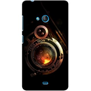G.store Printed Back Covers for Microsoft Lumia 540 Black 40312