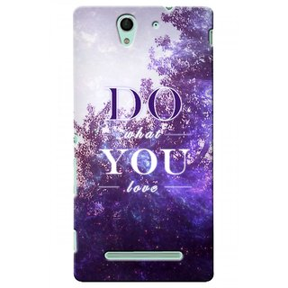 G.store Printed Back Covers for Sony Xperia C3 Multi 45524