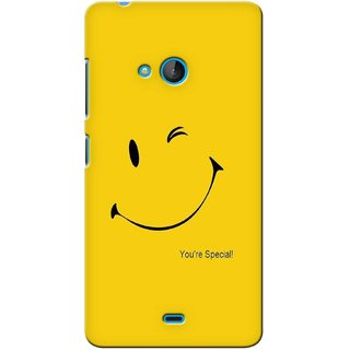 G.store Printed Back Covers for Microsoft Lumia 540 Yellow 40347