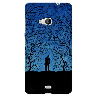 G.store Printed Back Covers for Microsoft Lumia 535 Blue 40219
