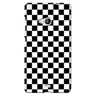 G.store Printed Back Covers for Microsoft Lumia 535 Black 40239