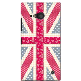 G.store Printed Back Covers for Microsoft Lumia 735 Multi 40415