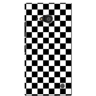 G.store Printed Back Covers for Microsoft Lumia 735 Black 40439
