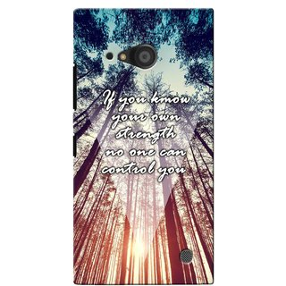 G.store Printed Back Covers for Microsoft Lumia 735 Multi 40464