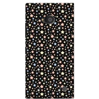 G.store Printed Back Covers for Microsoft Lumia 735 Black 40471