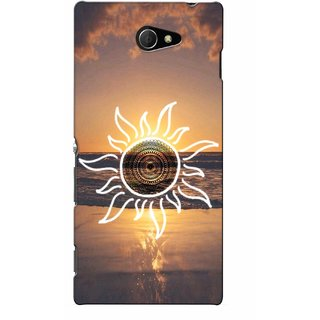 G.store Printed Back Covers for Sony Xperia M2 Multi 46066