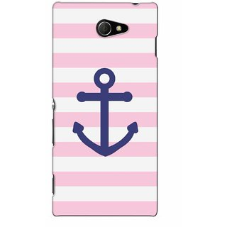 G.store Printed Back Covers for Sony Xperia M2 Pink 46083